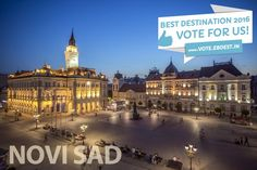 Novi Sad the most beautiful city in Serbia and the Balkans. Amazing and friendly people and a multicultural, multi ethnic city.