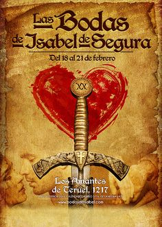 Cartel Las Bodas de Isabel de Segura 2016