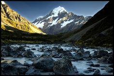 Monte Cook en Nueva Zelanda