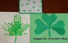 Teach your child about shamrocks and the holiday by getting creative with these three simple crafts that use materials you probably have on hand!