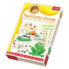 Gra Edukacyjna Tworzymy Slowa Gry Trefl 4632444466 Oficjalne Archiwum Allegro Monopoly Deal Monopoly Games