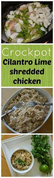 Cilantro Lime Chicken : KetoSlowcooking