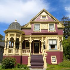 1000 Images About Beautiful Houses On Pinterest Victorian Houses Queen Anne And Victorian