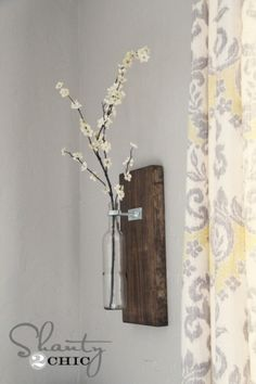 Wall Vase by suzanne
