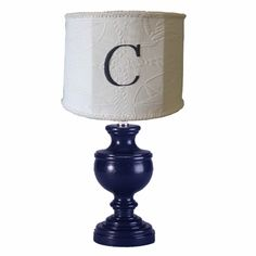 Nautical Matelasse Monogram Classic Urn Lamp at Jack and Jill Boutique Baby Boy Rooms, Baby Room, Taylormade, Urn, Chandelier Lighting, Table Lamp, Monogram, Blue And White, Nursery