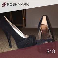 charlotte russe heels. charlotte russe. black heels. size 8. only worn twice. Charlotte Russe Shoes Heels