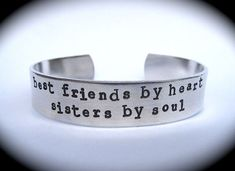 Best Friends by Heart. Sisters by soul.