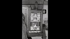 Display frame of Izzat Ullah's box camera. Peshawar, 2012.