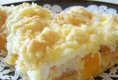 Ingredients: 1 package of white or yellow dry cake mix cup butter, room temperature Jello Recipes, Fruit Salad Recipes, Crockpot Recipes, Dessert Recipes, Cooking Recipes, Sweet Hawaiian Crockpot Chicken Recipe, Chicken Recipes, Dreamsicle Salad Recipe, Fluff Desserts