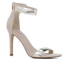 Buy online Strap Heels - Black ankle strap single sole heels nubuck from AMI Clubwear Black Strap Heels, Ankle Strap, Ankle Heels, High Heels, Gorgeous Heels, Crazy Shoes, Women's Sandals, Summer 2016, Fashion Trends