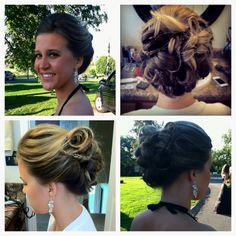 Up-do inspired by Jessica alba!