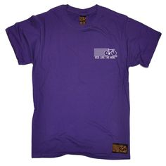 Ride Like The Wind Men's Breast Pocket Brand Design Cycling T-Shirt