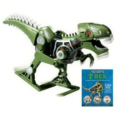 What do animals and robots have in common? With these inventive books you'll explore the worlds of animals and robots and how they interact, then build the Robotic T-Rex!