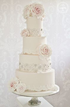 I love every cake on this website by Cotton and Crumbs.  Gorgeous.