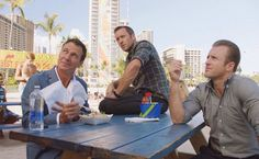 Chris vance in the serie Hawaii Five 0 seqson 8