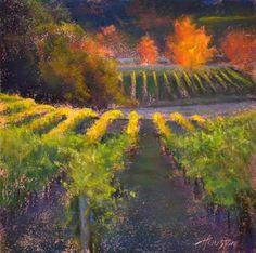 Vineyard Melody by Amanda Houston #newworksoncopper