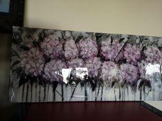 Acryl Bilder , Selber malen , Painting, DIY Acrylic painting, Schöne Bilder , Blumen, Hortensien, Abstrakte Malerei, Acryl Abstrakt , Portland, Glass Engraving, Chandelier, Ceiling Lights, Home Decor, Art, Painting Abstract, Hydrangeas, Beautiful Pictures