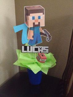 Minecraft Centerpiece