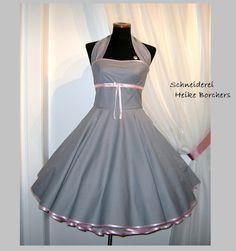 Petticoatkleid - Clea - 50er-Jahrekleid von Schneiderei Heike Borchers auf DaWanda.com