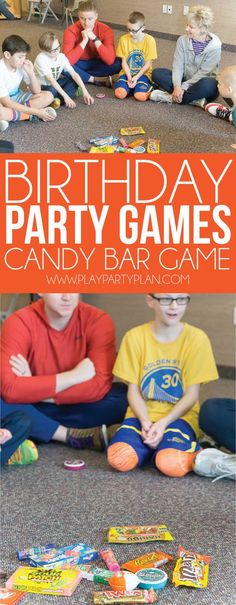 Fun birthday party games for kids, for teens, and even for adults! You can play these indoor or outdoor and unlike unicorn games, these games for boys or for girls! games for 10 year olds Hilarious Birthday Party Games for Kids & Adults - Play Party Plan Birthday Party Games Indoor, Boy Party Games, Birthday Party Games For Kids, Slumber Party Games, Adult Party Games, Halloween Party Games, Birthday Fun, Birthday Ideas, Fun Games