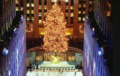 Rockefeller Center   Rockefeller center   New York at Christmas time