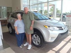 Congratulations to Ben & Linda Tittle on their new 2013 Rav4! Welcome to the David Maus #Toyota family!