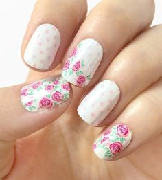 Spring Nails - Incoco Nail Strips Review http://lifeandcity.tumblr ...