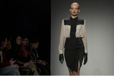 Caitlin Power fall 2013 collection at World Mastercard Fashion Week. (Keith Beaty/Toronto Star) #style #runway