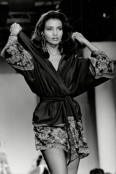 80s Flashback: Somali Kenyan model and socialite Khadija Adams For more visit: www.charmingdamsels.tk