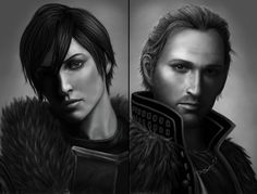 Dragon Age art by GiveThemHorns