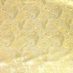 Brocade Home Decor Decoration royal blue / silver paisley brocade fabric | royal blue, fabrics