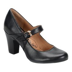 1940s Style Shoes Womens Sofft Miranda Mary Jane $99.95 AT vintagedancer.com