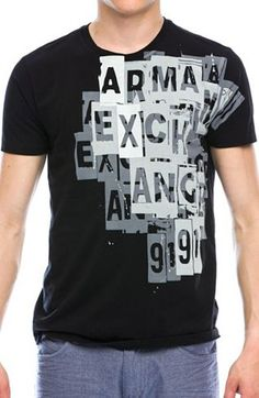 Shop the full range of Clothing and Accessories for Men and Women from the latest collection today. T Shirt Designs, Casual T Shirts, Tee Shirts, T Shart, Online Clothing Stores, Mens Tees, Diy Clothes, Graphic Tees, Emporio Armani