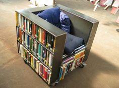 Cool bookshelf chair