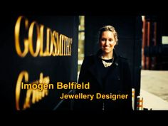 Filming outside our studio at the Goldsmiths' Centre for Channel 4 TV series 'Britain's Secret shoppers' . Imogen Belfield was selected for the show as the Jewellery expert to offer advice on Jewellery & how to best discover & find your pieces in UK shops.