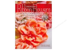 Krause Publications Creating Ribbon Flowers Book by Nicholas Kniel and Timothy Wright. Create gorgeous ribbon flowers with this collection of illustrated step-by-step lessons. With only a few yards of ribbon, you can make the perfect embellishment for any garment, home decor item, wedding party, and more. 33 flowers provide a wide range of options for any craft or sewing project. 9 project ideas will inspire you to create corsages, boutonnieres, French bulletin boards, bouquets and hair…