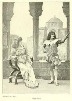 Sarah Bernhardt as Gismonda