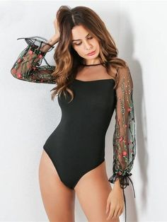 2018 Summer Bodysuits for Women Classy Outfits, Boho Outfits, Casual Outfits, Fashion Outfits, Body Suit Outfits, Crop Top Outfits, Black Girl Fashion, Cute Fashion, Casual Dresses For Women