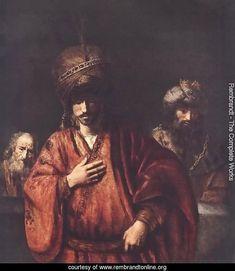 David and Uriah 1665 / Rembrandt