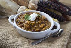 Slow Cooker Bean & Sweet Potato Chili | Little Bites