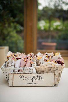 20 + DIY Bastelideen zur Hochzeit - DIY Konfetti