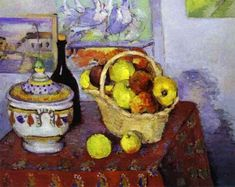 Artwork by Paul Cézanne, Still Life with Soup Tureen, Made of Oil on canvas