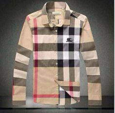 Burberry Men Shirt 2014-2015 BTS205 | Classic Plaid Shirt To Wear ...