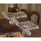 Wow - what a great crystal cake stand, super gift for 15th wedding anniversary.