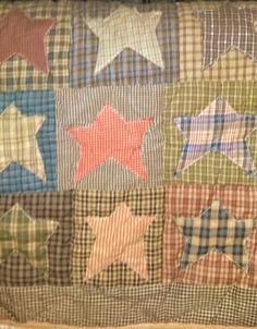 Quilt piece...would love this pattern for a baby blanket :)