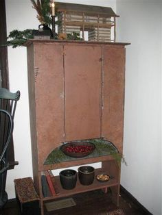 homestead cupboard~never have seen a piece like this before...