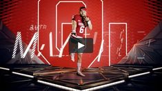 The College Football Playoff will have a new look this year thanks to ESPN's in-house Creative Services team. Five shoots were conducted over a 10-day span…