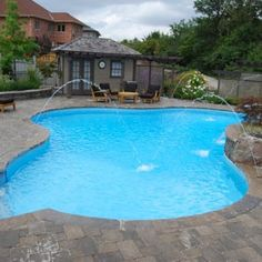 When I am older I would like to have a inground pool in my backyard #inground#hotdays
