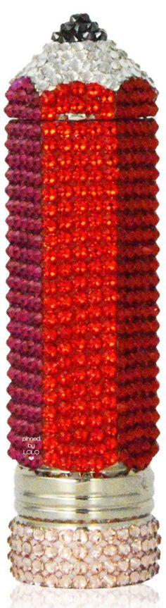 Judith Leiber Crystal Pencil Pillbox | LOLO❤︎