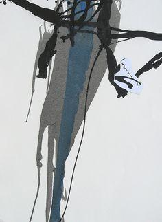 #106 09-02-10 oil on paper by lee kaloidis